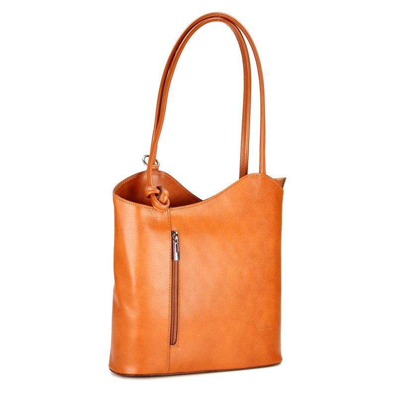 belli ital leder handtasche rucksack belli backpack. Black Bedroom Furniture Sets. Home Design Ideas