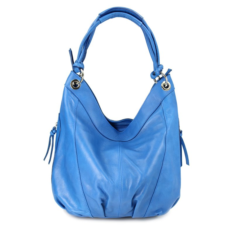Belli ital xxl nappa leder shopper blau belli shop for Xxl ohrensessel leder
