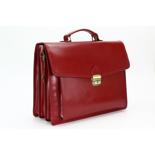 BELLI Design Bag D Leder Business Bag bordeaux
