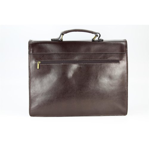 BELLI Design Bag D Leder Business Bag dunkelbraun