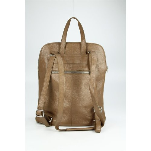 BELLI Backpack Seattle Leder Rucksack taupe