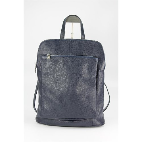 BELLI Backpack Seattle Leder Rucksack blau