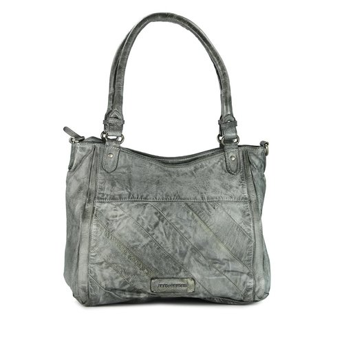 FREDsBRUDER Across The Century Ledertasche grey grau