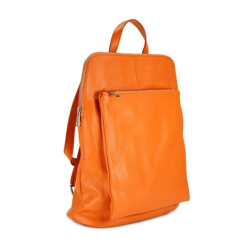 BELLI Backpack Seattle Leder Rucksack orange